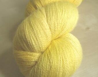 Golden Sunshine Celestial laceweight yarn