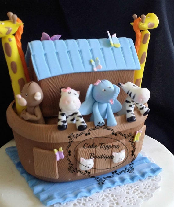 Noah's Ark Baby Shower Noah's Ark Cake Topper