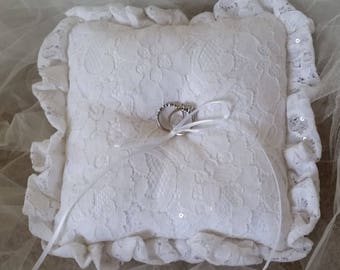 Elegant Ring Bearer Pillow