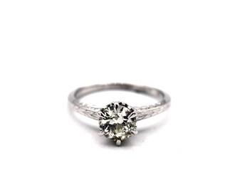 1930's Diamond Solitaire Ring