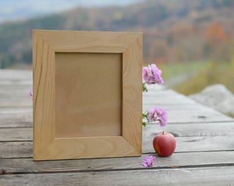 (Larger sizes) oak wooden picture frame, STANDARD (until 50x75cm 30x40cm) / square (30x30cm until 50x50cm) /PANORAMA (13x45cm until 30x76cm)