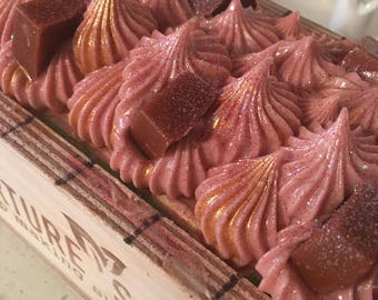 Chocolate Cinnamon Handcrafted  Artisan Soap / Fall Soap /  Cold Process