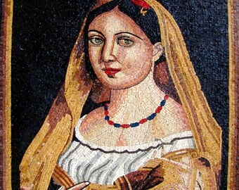 Mosaic Wall Art- Spanish Mother