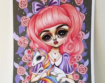 Show Your Sparkle 8x10 Art Print