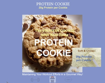 Protein Cookie 20g | Free Shipping