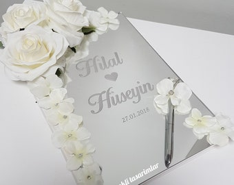 Personalised guestbook A4 size with Pen4