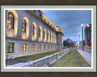 Central Library St. Louis, Library photography, St. Louis Library, architectural photography