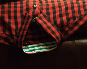 Black and Red Gingham shirt