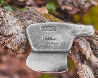 Clicking hatchet from United Shoe Manufacturing Company