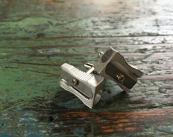 Pencil Sharpener Cufflinks / Grooms gift /Personalised groom cufflinks / Wedding cufflinks / Mens cufflinks / Boutons de manchette