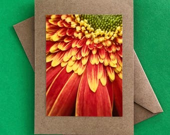 Handmade note card - greeting card - thank you card - just because card