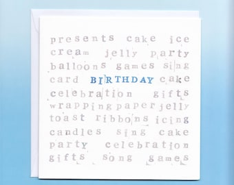 Birthday Card for him!