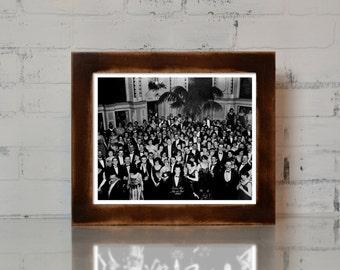 The Shining Overlook Hotel Ballroom Photograph Jack Nicholson Movie Prop Print 8.5x11