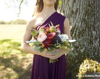 Reserved Listing for Laura-Listing 2 of 2-1 Moonriver Marsala dress