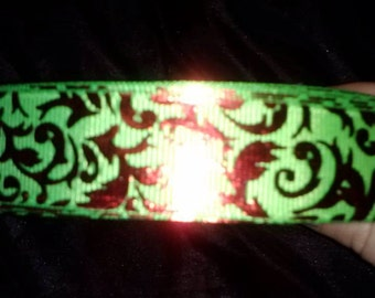 Christmas foil ribbon