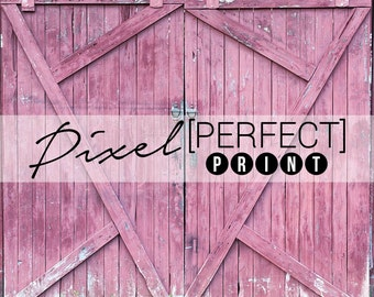 "5ft x 5ft ""Barn Doors"" Vinyl Backdrop // Vinyl Backdrops // Vinyl Photography Backdrop // Barn Door Backdrop (PP261)"