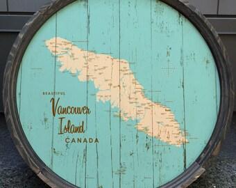 Vancouver Island, Canada Barrel End