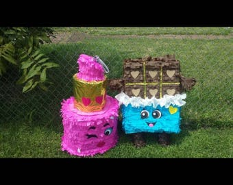 Inspired Shopkin Pinatas