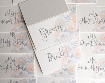 Place Card Calligraphy - Guest names Only