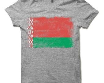 Belarus Flag T Shirt | Belarusian Belorussian Byelorussian Flag T Shirt Gift