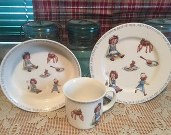 Vintage Miss Muffet Set