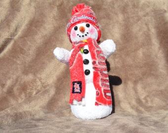 Adorable holiday snowman