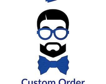 BoldFoldz Custom Bow Tie