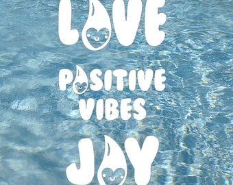 Positive Vibes Decal Kit
