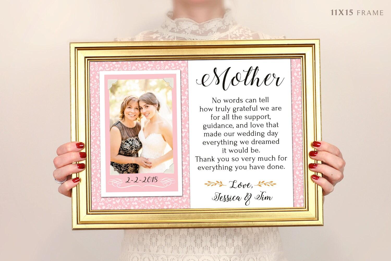 Geschenk für Eltern danke Hochzeitsgeschenk Elter der