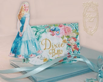 Placecards Alice Through the Looking Glass Customized