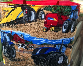 Farm Tractor Tote Bag Ready To Ship