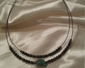 Turquoise necklace Now on sale.  Was 9.95 now 8.95