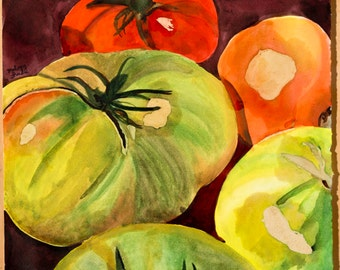 Tomato Painting (print)