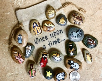Nativity Rock Set