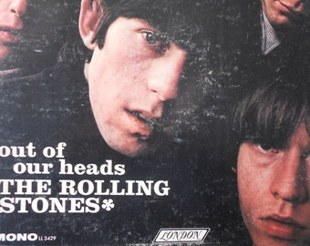 The Rolling Stones - Out Of Our Heads - MONO vinyl record