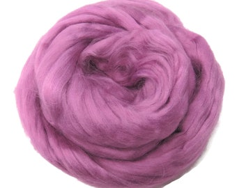 Viscose Fiber for felting ,spinning, paper making and art batts . color: Primrose