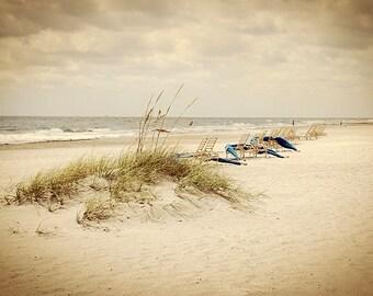 Dreamy Mystic beach coastal Photography Nautical poster Wall art decor