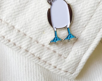 Blue Footed Booby Lapel Pin