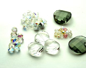 Crystal beads | different sizes | different colours | jewelry making