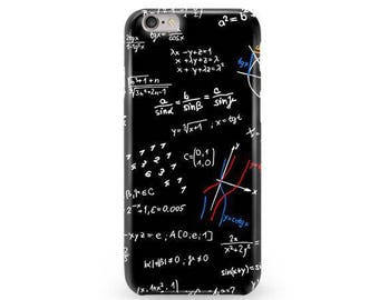 Math iPhone 7 Plus Case, Mathematics iPhone 6 Case, Gifts for Teachers, Science iPhone SE Case, Math iPhone 5S Cover, Math iPhone 7 Cover