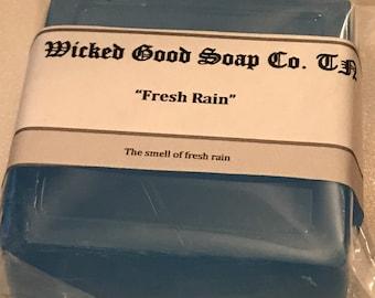 Fresh Rain Clear Glycerin Soap