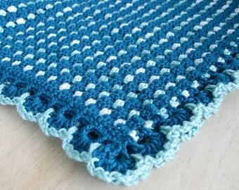 Dit Dah Blanket Crochet Pattern