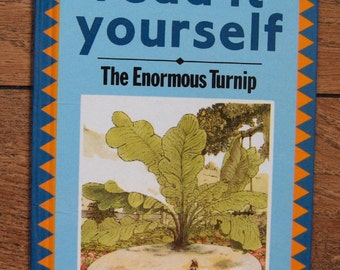 vintage ladybird book read it yourself series The Enormous Turnip
