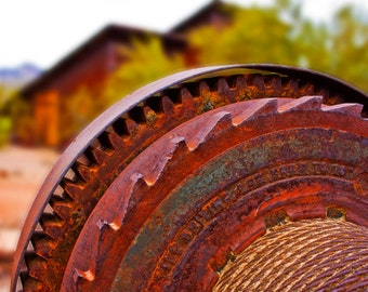 Antique Gears - Mining Machinery