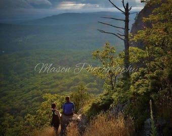 Summer Mountain View, Nature limited edition on 8x10 printed canvas MasonphotographyCo