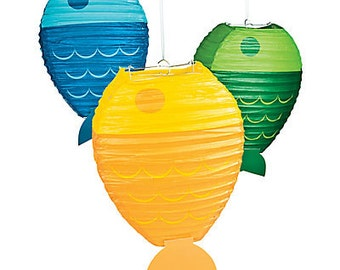 My Fishing Party Lanterns / Party decorations