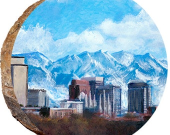Salt Lake City Wasatch Mountains - DCP290