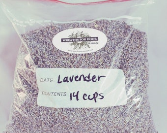 French Lavender Bulk Naturally Fragrant Dried Lavender Buds Flowers Pefect For Soap Sachet Bag Wedding Favors 14 cup Bag Free Shipping