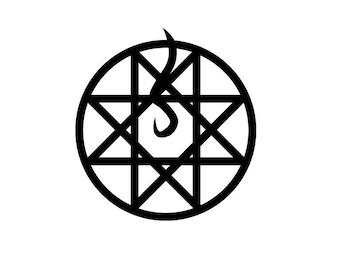 Full Metal Alchemist Blood Seal Decal