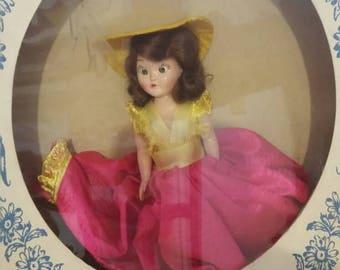 Hard Plastic Doll Mint in box 1940s